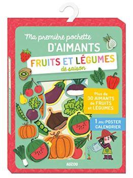 Ma première pochette d'aimants fruits et légumes de saison