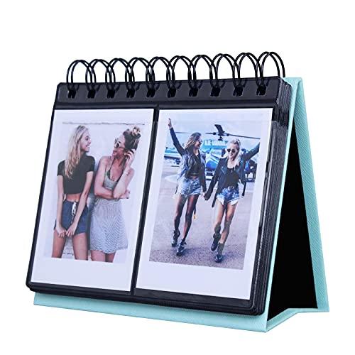 [Fujifilm Instax Mini Photo Album] 68 Pockets Desk Calendar Album...