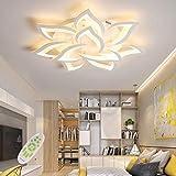 LED Plafonnier Moderne Dimmable Créatif Forme De Fleur Design Lampe De Plafond...