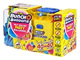 Zuru 56174 - Palloncini Bunch O per feste, 40 palloncini in 40 secondi, con pompa elettrica, 16 palloncini, tubo e 4 adattatori, colori assortiti in 3 colori
