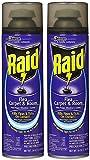 Raid Flea Killer Carpet and Room Spray, 16 OZ (pack of 2)