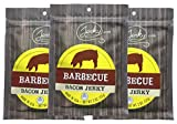 Barbecue Bacon Jerky - 3 PACK - Made with REAL Bacon - World Famous, Small Batch Bacon Jerky - 5.25 total oz.