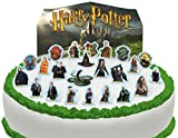 Toppershack 24 x decoración para pasteles comestibles PRECORTADAS de Harry Potter