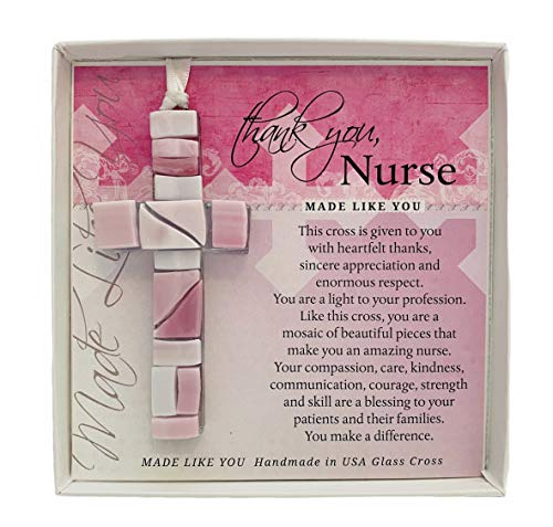 Thank You Gift For Nurse - Cross With Thank You Message-...