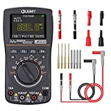 Oscilloscope Multimeter, LM2020 New Upgraded with Test Leads Kits, Professional LED Handheld Oscilloscope with 2.5 Msps high Sampling, Waveform Capture Function, DC/AC Voltage/Current Test