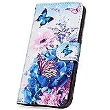Surakey Coque iPhone 5C étui à Rabat en Cuir PU,3D Effet Paillette Imprimé...