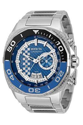 Invicta Speedway Quartz Blue Dial Batman Bezel Men's Watch 33195