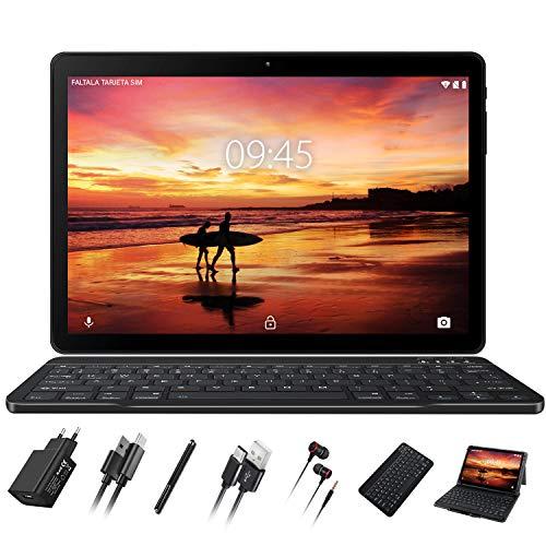 Tablet 10 Pollici GOODTEL Android 8.1, RAM da 4 GB, ROM da 64 GB, G3 Tablets PC con Doppia...
