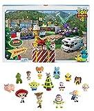 Toy Story 4- Calendario dell'Avvento, Contiene 24 Sorprese Ispirate al Film, Giocattolo per Bambini 3 + Anni, Multicolore, GKT88