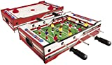 Carromco Table Multi-Jeux 2 en 1 Flip XM, 06002, Red/White