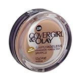 COVERGIRL & OLAY Simply Ageless Instant Wrinkle Defying Foundation Creamy Natural, .4 oz