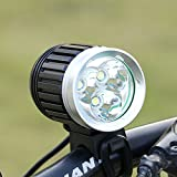 GHB Lampe VTT LED Puissante Lampe Vélo Eclairage VTT Phare Vélo...