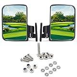 9.99WORLD MALL Universal Golf Cart Side Mirrors for Club Car EZ-GO...