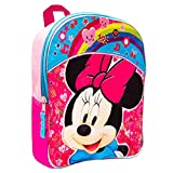 Disney 11' Toddler Minnie Mouse Preschool Backpack Set with Over 300 Stickers