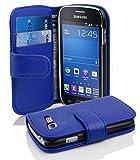 Cadorabo Coque pour Samsung Galaxy Trend Lite en Bleu CÉLESTE - Housse...