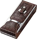 Visol'Alton' Leather Cigar Case, Brown