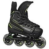 Tour Hockey Code 9 Youth Adjustable Inline Hockey Skate, Black, Small 11-1