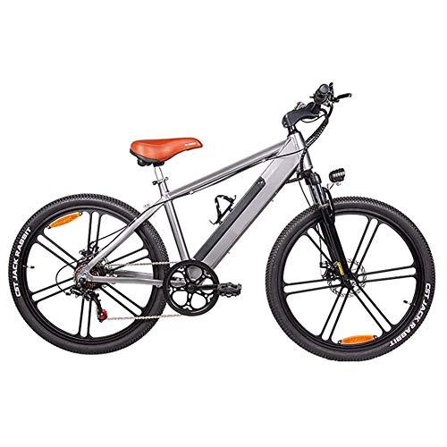Black Friday 2020 Bicycle Bike LFEWOZ Lightweight Electric Mountain Bike, Fat Tire Road Bicycle 350W City Bike 6-Speed 26 Inch E-Bike Bike, Black Friday 2020 - heforx.com