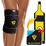 Langov Knee Brace for Knee Pain for Women & Men – Knee Compression Sleeve – Open Patella Knee...