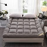 LNDDP Matelas futon de Tatami de Tissu Pliable de 8 cm, Anti-dérapant Simple...