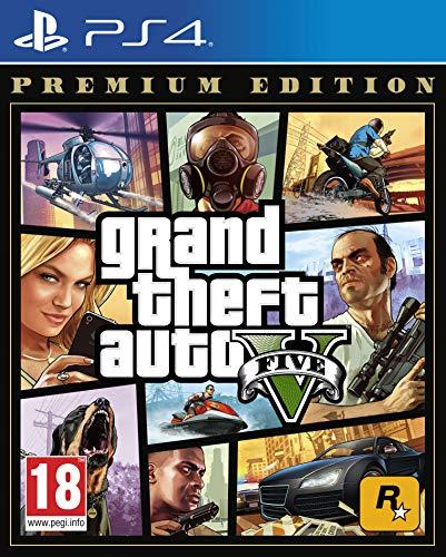 Grand Theft Auto V Premium Edition - [PlayStation 4][AT-Pegi]