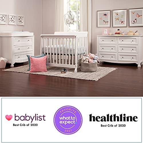Product Image 4: DaVinci Kalani 4-in-1 Convertible Mini Crib in White, Greenguard Gold Certified