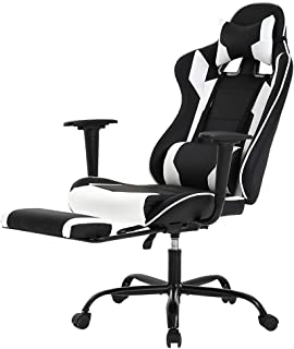 Racing Gaming Chair, High-Back PU Leather Home Office Chair Desk Computer Chair Ergonomic..