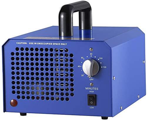 Cicuny Ionizzatore e Deodorante per purificatore d'Aria con generatore di ozono Portatile per camere, Fumo, Automobili