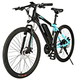 ANCHEER 350/500W Electric Bike 27.5'' Adults Electric Commuter Bike/Electric Mountain Bike, 36/48V...