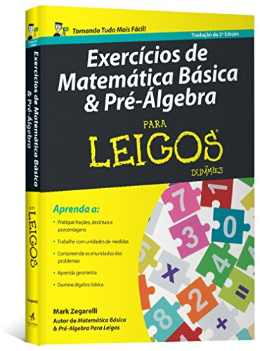 Basic Math and Pre-Algebra Exercises for Dummies