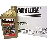Yamaha LUB-15W50-FS-12 Yamalube 15W50 Full Synthetic Oil Quart; LUB15W50FS12 Made by Yamaha