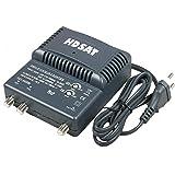 HDSAT AMPLIFICATEUR TNT Blinde 2 Sorties ampli d'intérieur antenne TV 220V