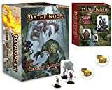 Pathfinder Bestiary Pawn Box (P2) and Pawns Bases Plus Two Treasure Chest Buttons