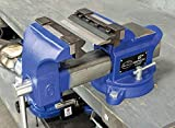 Eastwood 6 in. Vise Mount Press Metal Brake Bender Attachment Cross Slide On Workbench for Bend Sheet