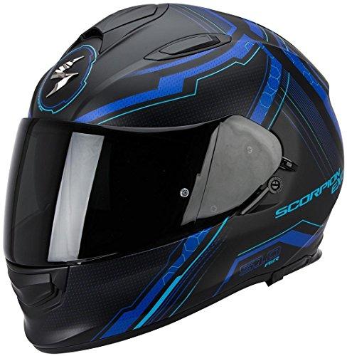 Scorpion Helm, Matt Schwarz/Gelb, L