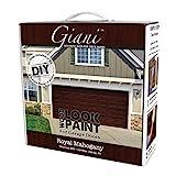 Wood Look Paint Kit for Garage Doors (Royal Mahogany)