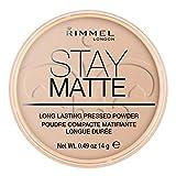 Rimmel London Stay Matte Powder Polvos de maquillaje Tono 5 - 14 gr