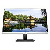 """HP 27mq 1F2J9AA - Monitor de 27"""" QHD (2560 x 1440 a 60 Hz, antirreflectante, HDMI, VGA, altura ajustable) negro/plateado"""