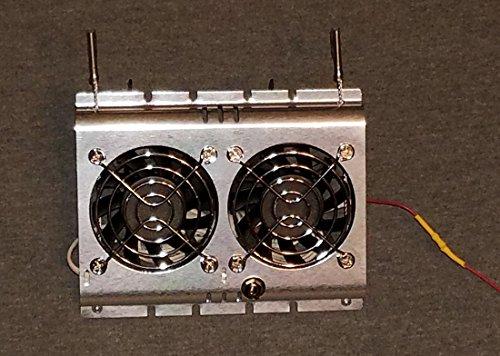 Deluxe RV Refrigerator Evaporator Fan w/Grill