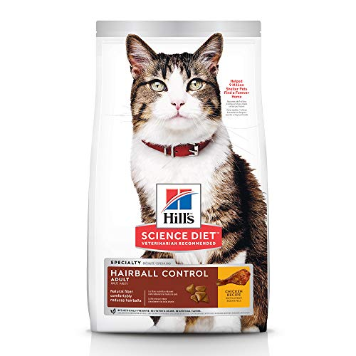 Hills-Science-Diet-Dry-Cat-Food-Adult-Hairball-Control-Chicken-Recipe-7-lb-Bag