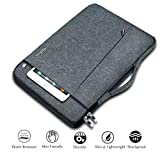Ferkurn 11.6 inch Laptop Sleeve 11 inch 12 inch Carrying Chromebook Case Bag with Handle Compatible MacBook Air 11.6, Chromebook 3100, Pixelbook, Acer R11, Samsung / 13 inch New MacBook/XPS 13 Grey