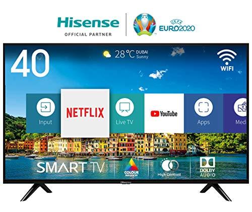 Hisense H40BE5500 Smart TV LED Full HD, Natural Colour Enhancer, Quad Core, VIDAA U , Tuner...