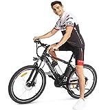 ANCHEER Bicicleta Eléctrica de Montaña, E-Bike 26 Pulgadas, Batería de Litio 250W 36V...