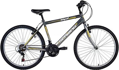 F.lli Schiano Integral Cambio Power 18V Bicicletta, Antracite/Grigio, 26
