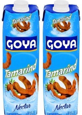 Goya Tamarind Nectar 33.8 Fl.Oz. (Pack of 02)