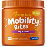 Zesty Paws Glucosamine for Dogs - Hip & Joint Health Soft Chews with Chondroitin...