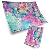 Lot de 4 rouleaux de papier d'emballage 70 x 50 cm - Impression écologique -...
