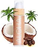 COCOSOLIS Aloha - Superbronceador con vitamina E, aceite corporal bronceador - Protector solar orgánico ...