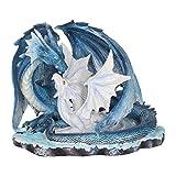 Nemesis Now Figurine Mothers Love Bleu 22 cm