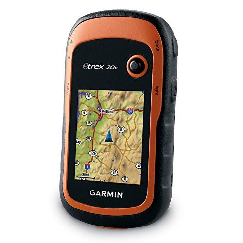 Garmin eTrex 20x with 240 x 320 display pixels
